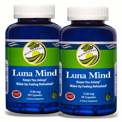 Luna Mind l Sleep Supplement l 120 Capsules - Health Naturals