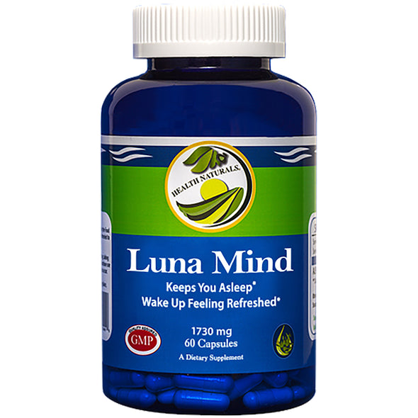 Luna Mind l Sleep Supplement 60ct - Health Naturals
