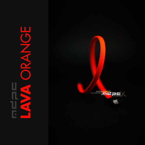 Lava-Orange: Medium Sleeve