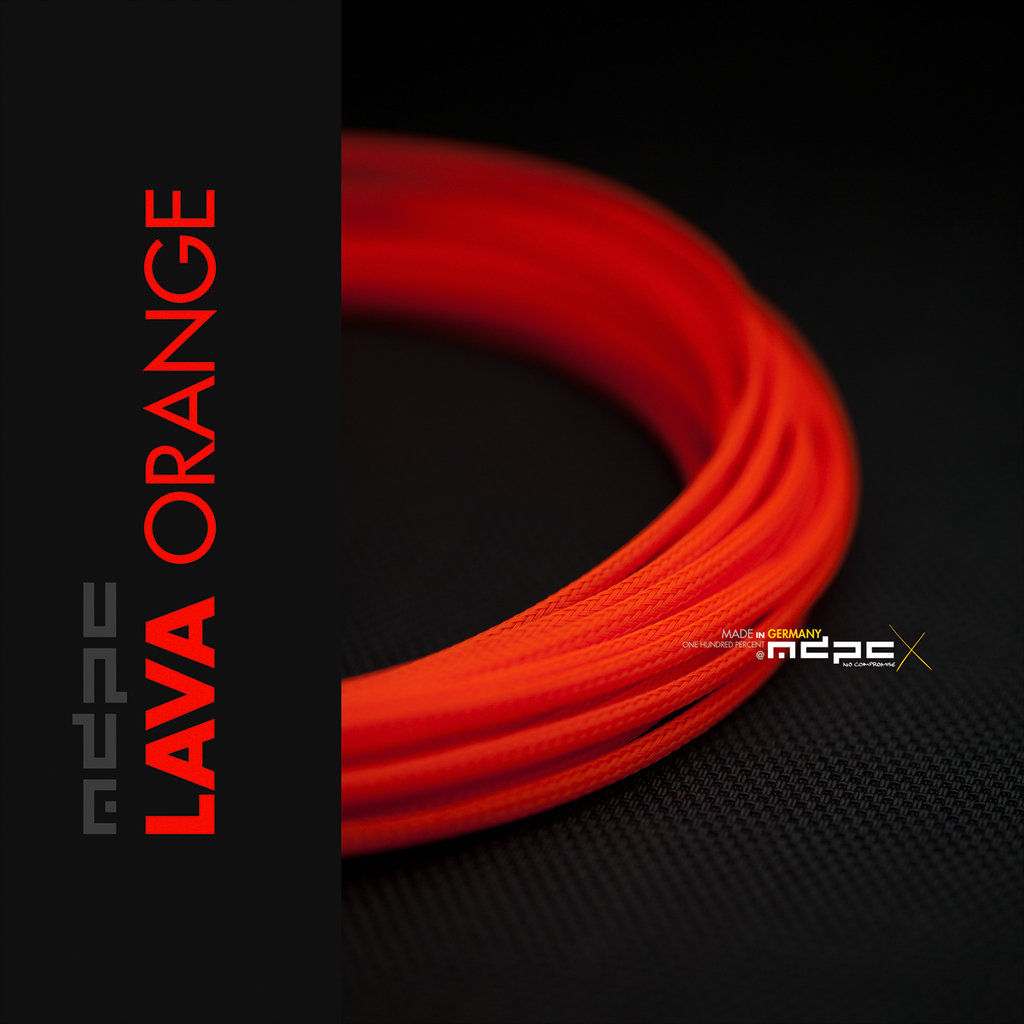 Lava-Orange: Small Sleeve