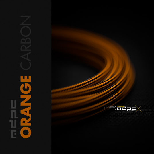 Orange-Carbon: Small Sleeve