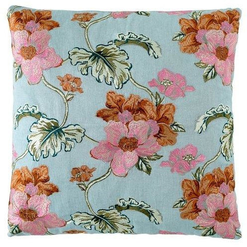 BOUQUET CUSHION SEA MIST LARGE