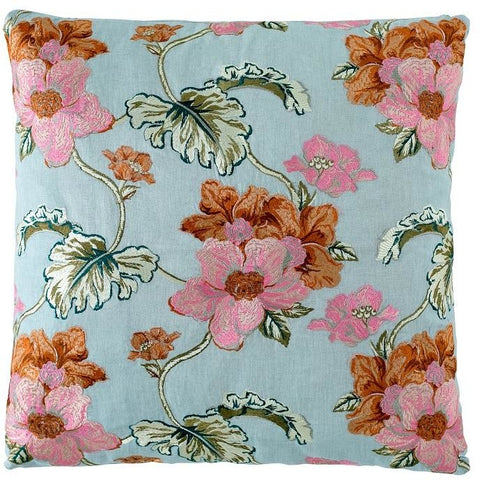 BOUQUET CUSHION SEA MIST MEDIUM