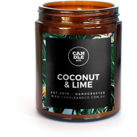 Coconut Lime Amber Collection Candle