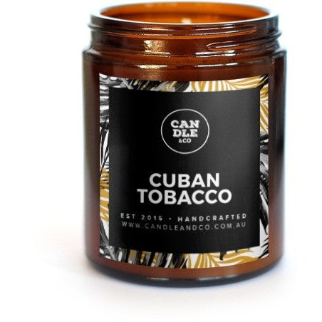 Cuban Tobacco Amber Collection Candle
