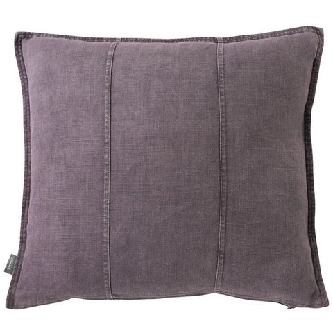 LUCA CUSHION AUBERGINE MEDIUM