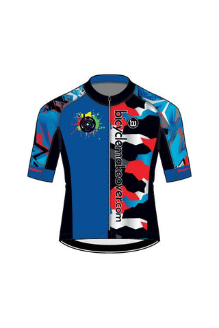 Bicycle Makeover - Men's Contender 2 Jersey - #WBI1018-1