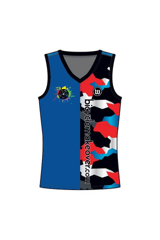 Bicycle Makeover - Men's Running Singlet - #WBI1018-1