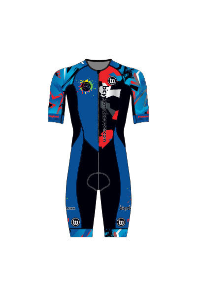 Bicycle Makeover - Men's Contender Tri-Speedsuit - #WBI1018-1