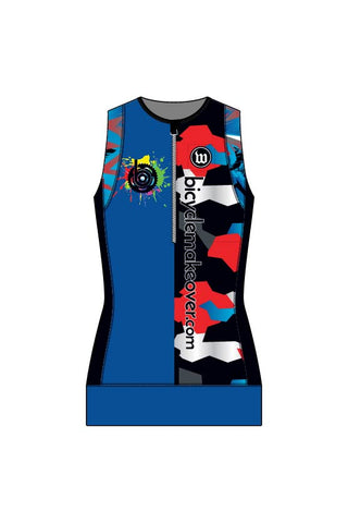 Bicycle Makeover - Men's Contender Aero Triathlon Top - #WBI1018-1