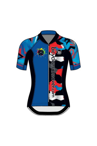 Bicycle Makeover - Women's Contender 2 Jersey - #WBI1018-1