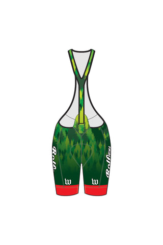 Fast Fun Nice P/B Wattie Ink Team - Women's Single Strap Bib Short - #1427