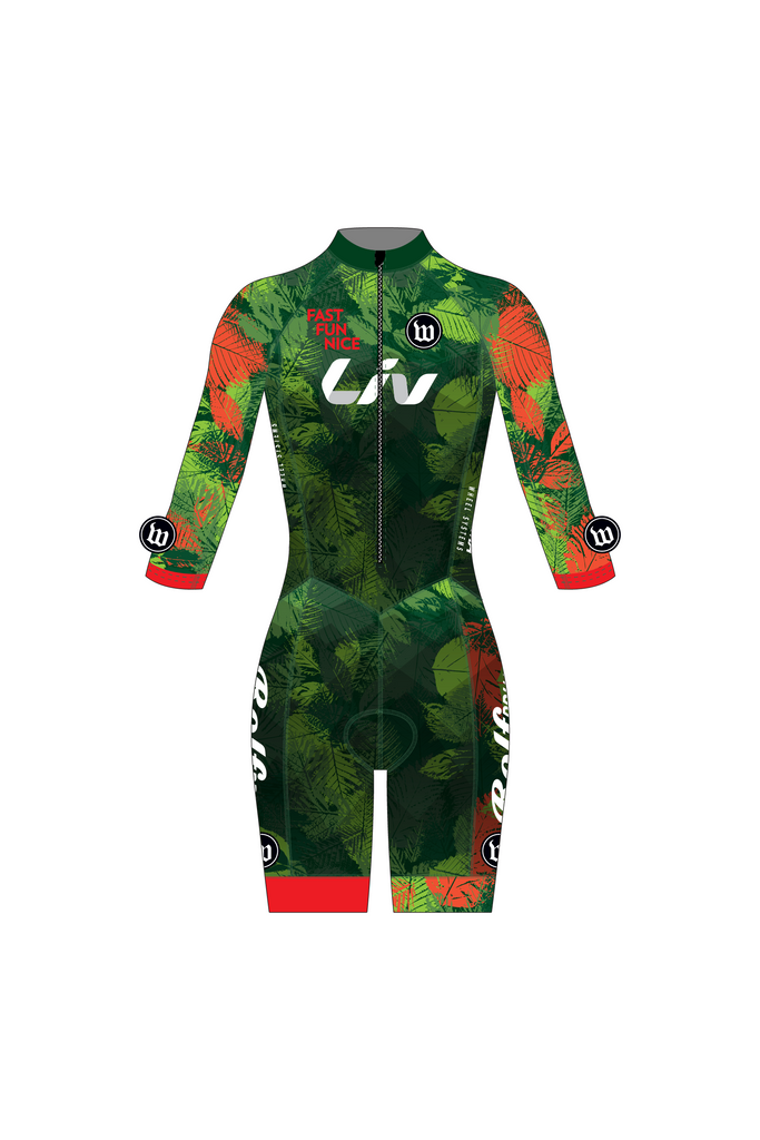 Fast Fun Nice - Contender Women's 3/4 Length Cross Suit - #WFA1018-1