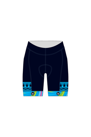 The Fitness Lab - Women's Contender Cycling Shorts - #WFI119-1