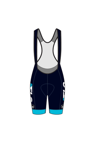 Women's Contender Bib Shorts - FLO FACTORY TEAM #WFL1019-1