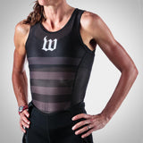 Women's Black Base Layer -#WNO218-2