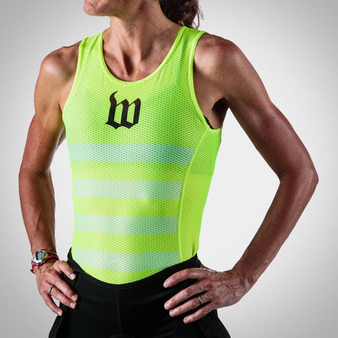 Women's Neon Yellow Base Layer - Template Team #100