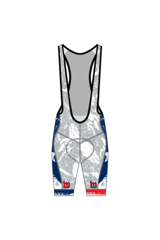North Texas Multisport Men's Contender Bib Shorts - #WNO218-2
