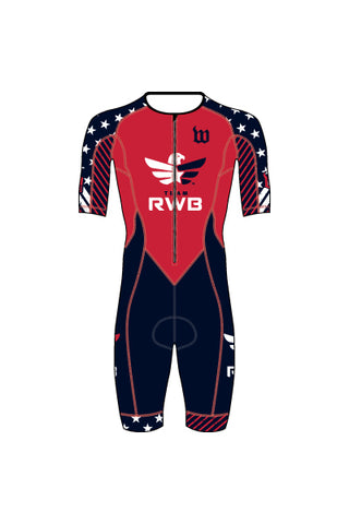 Men's Team RWB Contender Tri Speedsuit - #1360