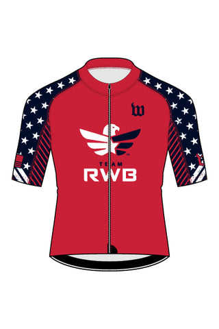 Men's Team RWB Contender 2 Cycling Jersey - #1360