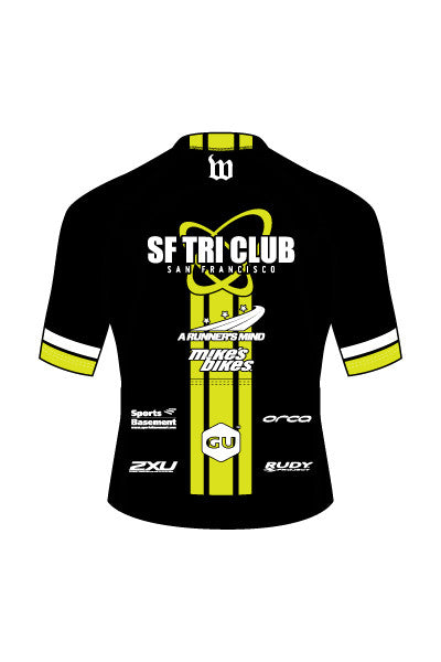 SF Tri Club Men's Contender Aero Jersey - #1337