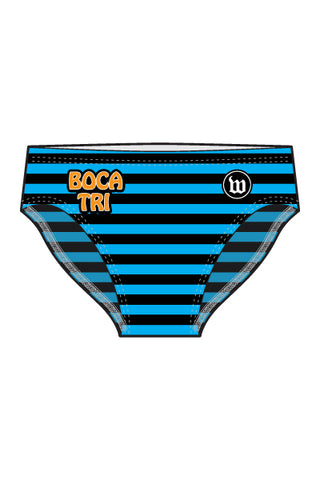 Boca Raton - Blue Men's Swim Brief - #WBO1018-1