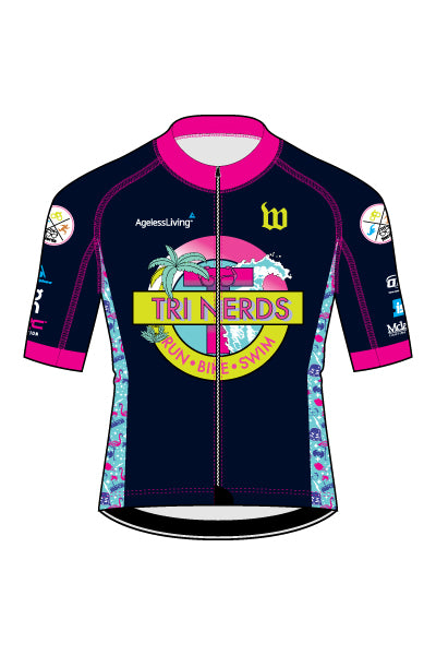 TriNerds Men's Contender Jersey - #1343