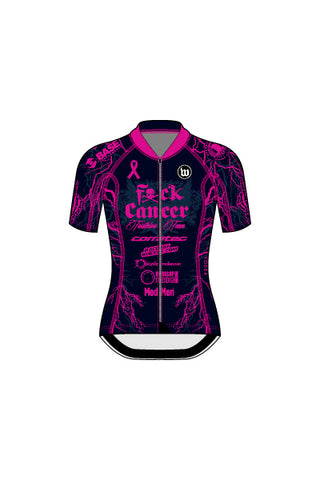 Fuck Cancer - Women's Contender 2 Jersey - #WFU818-3