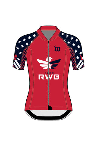 Women's Team RWB Contender 2 Cycling Jersey - #1360