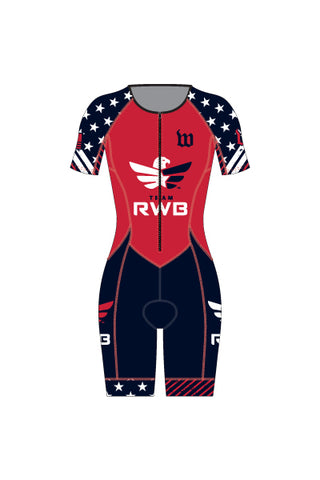 Women's Team RWB Contender Tri-Speedsuit - #1360