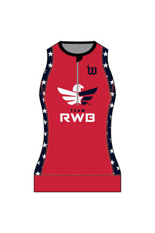 Women's Team RWB Contender Triathlon Top - #1360