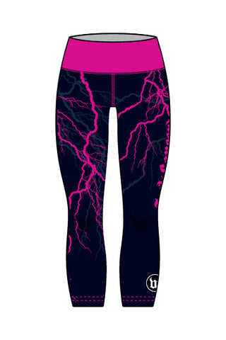Fuck Cancer - Women's Running Tights - #WFU818-3