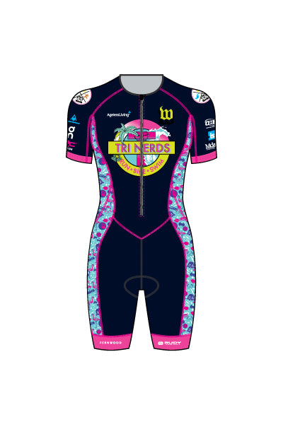 TriNerds - WTS02NV - Women's Tri-Speedsuit - #1343