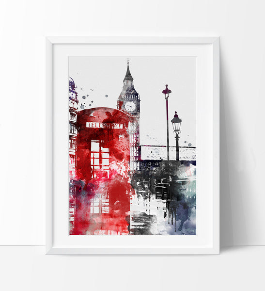 Delicieux ... London Big Ben Art, London Art, London Print, London Decor, London  Print ...