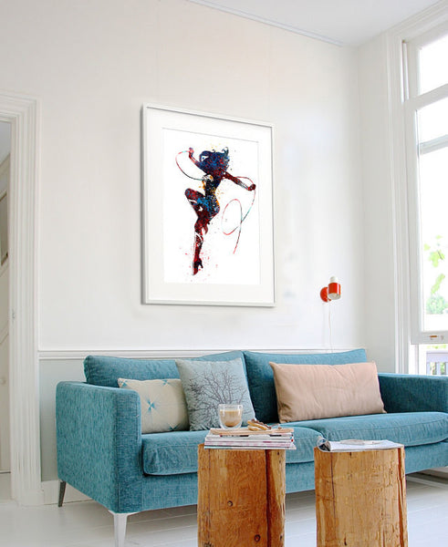 Wonder Women Art Print, Watercolor Superhero Art, Watercolor Painting Wonder Women Poster,Wonder Woman Print (108)