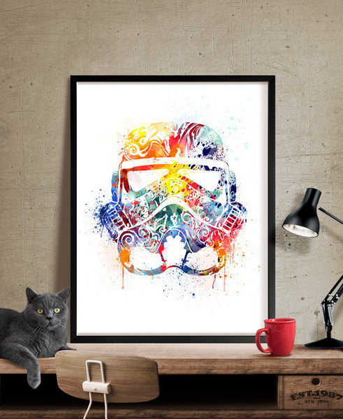 Star Wars Art, Star Wars Gift, Wall art, Star wars poster, star wars print, art print, Painting, Prints, Wall Hanging, Wall Decor (233)