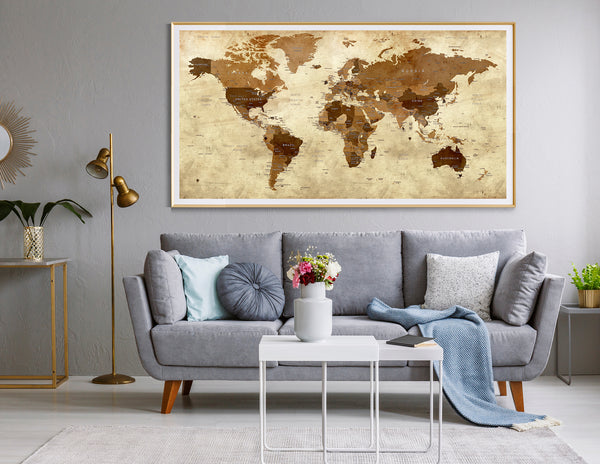 Large Old World Map