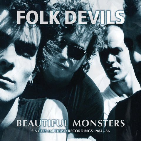 FOLK DEVILS - BEAUTIFUL MONSTERS (SINGLES and DEMO RECORDINGS 1984-86) 180g 2LP Damaged Sleeve
