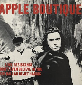 APPLE BOUTIQUE - LOVE RESISTANCE 7""