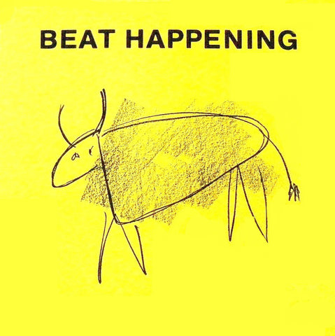 BEAT HAPPENING - CRASHING THROUGH Double 7""