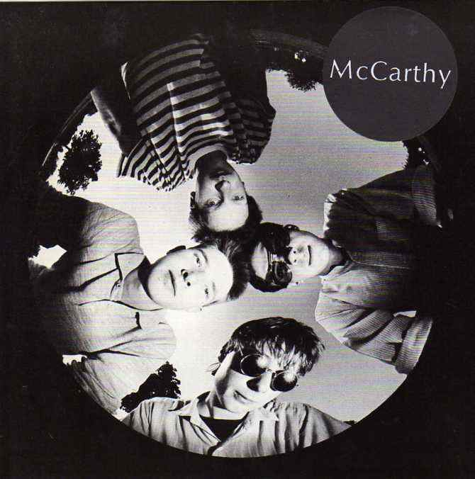 McCARTHY - RED SLEEPING BEAUTY 7""