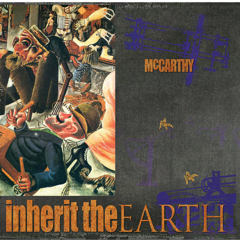 McCARTHY - THE ENRAGED WILL INHERIT THE EARTH 2LP+7""