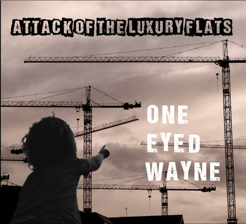 ONE EYED WAYNE- THE LUXURY BUNDLE CD T-SHIRT AND BADGE PACK