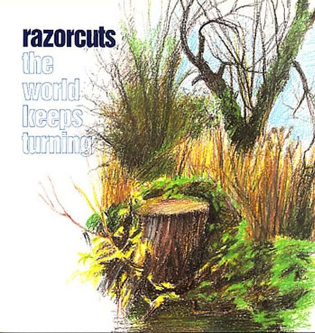 RAZORCUTS - THE WORLD KEEPS TURNING 2LP Black Vinyl