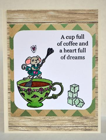 A cup full of coffee and a heart full of dreams!