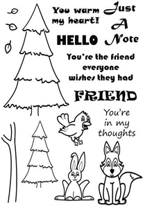 'Hello Friends' A story about 'Foxy'
