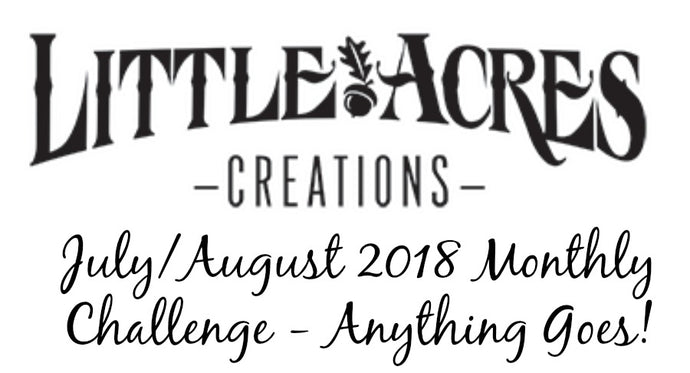 July/August Challenge and a Winner