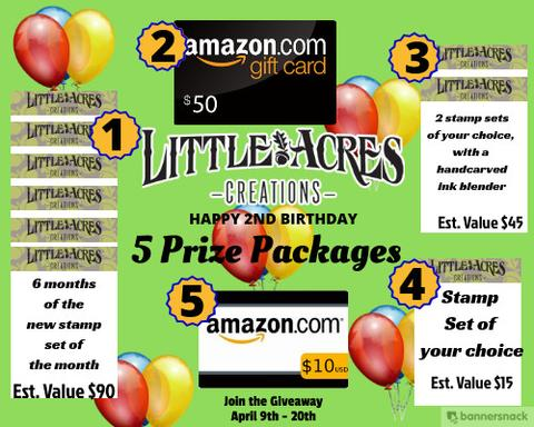 Little Acres Creations Birthday Celebration!