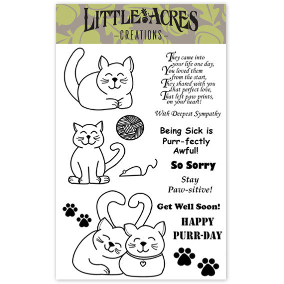 'Kitty Love' Stamp Set