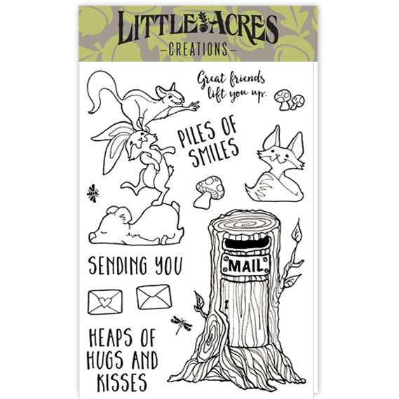'Piles of Smiles' Stamp Set